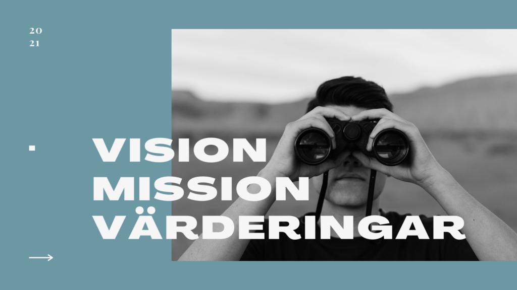 petrus vision, man med kikare
