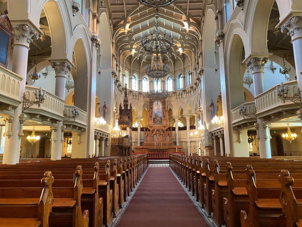 Johanneskyrkan i Helsingfors inifrån
