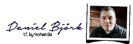 Daniel Björk signatur